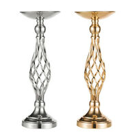 Metal Wedding Flower Table Decor Candle Holder Vase Centerpiece Stand 18/21 Inch