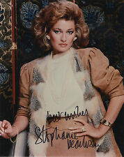 Stephanie Beacham - 'The Colbys' and 'Dynasty' - Hand Signed Colour Photograph.