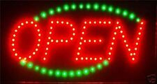 Animated Led Neon Light Open Sign Running Blue Led go Green L33