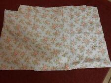 "Laura Ashley Floral Curtain Panels 40 X 86"""