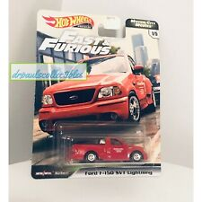 Hot Wheels FAST & FURIOUS Motor City Muscle  FORD F-150 SVT LIGHTNING New HTF
