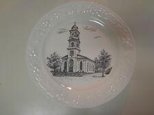 First Baptist Church in Hightstown New Jersey 1940's Souvenir Plate
