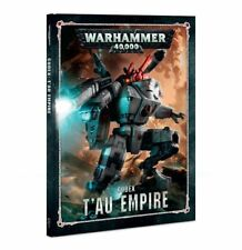 Warhammer 40K Tau Empire Codex Hardcover 8th Edition NEW
