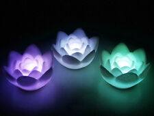 Romantic 7-Color Changing Lotus Flower Pattern LED Party Light Mini Lamp HG