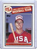 Mark Mcgwire 1985 85 Topps Baseball Rc Rookie Card A