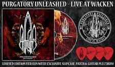 "At The Gates ""Purgatory Unleashed"" Ltd CD + Patch Picks"
