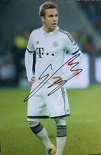 Mario Gotze signed Image B 12x8 photo UACC Registered dealer COA