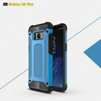 Hybrid Heavy Duty Shockproof Armor Protective Case Cover For iPhone Samsung New