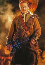 Sam Heughan Autographed signed photo