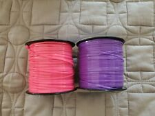"LOT of 2 Creatology 300 YARDS 3/32"" Plastic LACING Lace Jewelry Craft"