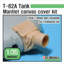 Def. MODEL, t-62a PISTOLA mantlet CANVAS COVER KIT, dm35062, 1:35