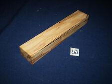 Buche gestockt Schmuckholz für Holzschmuck basteln Edelholz  Nr. 263