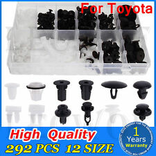 292 PCS FENDER TRIM CLIPS  DOOR HOOD BUMPER BODY RETAINER ASSORTMENT FOR TOYOTA