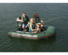 Solstice 21266 2 or 3 Person Sportster Inflatable Boat w/ Aluminum Floor