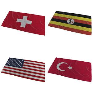 World Flags Wavy Design Bath / Beach Towel ( Variation 6 ) - Large