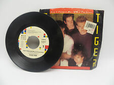 Glass Tiger - Don't Forget Me / Ancient Evenings -  Photo Sleeve, 45 RPM