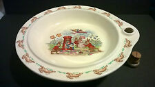 Vintage 1950s Royal Doulton Bunnykins bowl plate warmer with original plug EXC