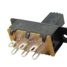 10Pz SS22F25-G7 2 Posizione DPDT 2P2T montaggio a pannello Interruttore a slitta