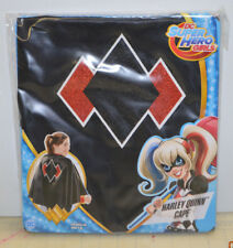 Harley Quinn DC Super Hero Girls Costume Cape - Fits 4-6X - New Rare Sealed OOP