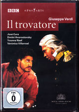 DVD VERDI Il TROVATORE Jose Cura Dmitri Hvorostovsky Yvonne Naef RIZZI MOSHINSKY