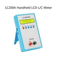 Lc200a Lcd Capacitance Inductance Meter Lc Tester Capacitor 1pf 100mf 1uh 100h