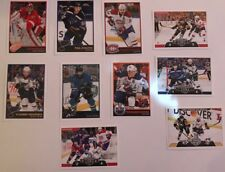 2017-18 PANINI NHL COLLECTIBLE STICKERS Pick 10 W/TRACKING~Hi Mike&Rick😉