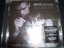 Fifty Shades Darker (Fifty Shades Of Grey) Soundtrack (Australia) CD – New