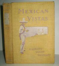 RARE❤️ANTIQUE BOOK_MEXICO TRAVEL GUIDE_PHOTOS_HISTORY_WAR_AZTEC_MEXICAN PYRAMIDS