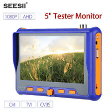 SEESII 5900 5'' HD 1080P Camera Tester Monitor TVI CVI AHD CVBS Test HDMI RS485