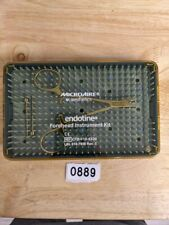 Microaire Cfd 010 4320 Endotine Forehead Instrument Kit 0889