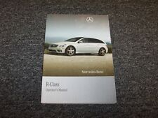 2008 MERCEDES BENZ R CLASS R350 R500 Owners Manual SET KIT W CASE FACTORY x