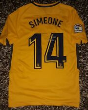Cholo SIMEONE PROOF Signed shirt Atletico de Madrid Inter Argentina firmado 3a593f125cbf8