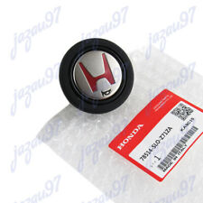 GOLD/RED JDM Horn Button For Momo Steering Wheel For Honda Acura NSX EG6 EK9 DC2