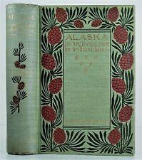 1897 ALASKA HISTORY TRAVEL GOLD MINES NORTHWESTERN FRONTIER MAPS 1ST MAPS ILLUST