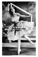 rp10562 - Russian Prima Ballerina , Anna Pavlova - photograph 6x4