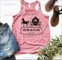 Womens Disney Tank-Cinderella Coach-Cinderella Carriage Tank Top XS-2XL