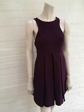 Jasmine di Milo Purple Mini DRESS PRONOVIAS Size UK 8 US 4 S Small