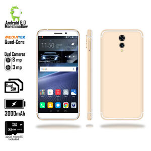 4G LTE Unlocked 5.6-inch Android SmartPhone + Fingerprint Access + 32gb microSD