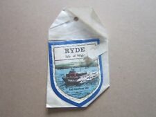 Ryde Hovertravel HM2 Cloth Patch Badge