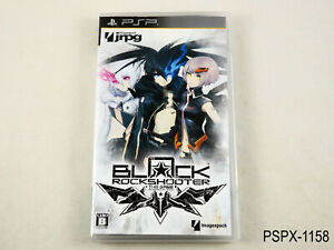 Black Rock Shooter The Game PSP Japanese Import Sony BRS Japan JP US Seller B