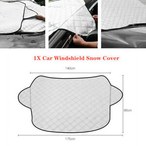 All-seasons Car SUV Windshield Cover Winter Snow Rain Guard Sun Shade Protector