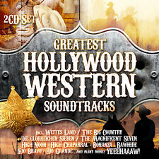 CD Greatest Hollywood Western Soundtracks 2CDs incl Die glorreichen Sieben