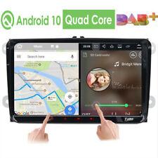 "9""Android10.0 GPS Nav Autoradio HD DAB+ For VW Passat Seat Golf 5 6 Jetta Touran"