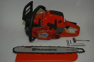 Husqvarna 550XPG Mark II Motorsäge + Griffheizung 50cm Schwert + 2x Ketten 4,1PS