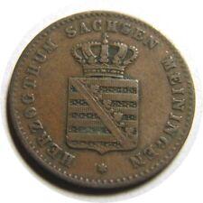 New listing elf Germany Saxe-Meiningen-Hilburghau sen 2 Pfennig 1866