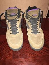New listing Men's Vtg Multi-Color Leather Nike Hiking Trail Boots Made in Korea Sz-9.5