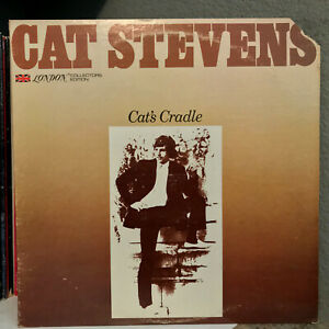 """CAT STEVENS - Cat's Cradle (Promo) - 12"""" Vinyl Record LP - EX"""