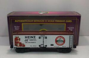 MTH 20-94321 Heinz 36' Woodsided Reefer Car LN/Box