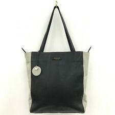 Radley London Bag Tote Style Handle Black Beige Leather Smart Casual 301221