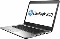 HP EliteBook 840 G4 14  i5-7300 2.60GHz 7th gen  8GB 256g msta ssd Win10p